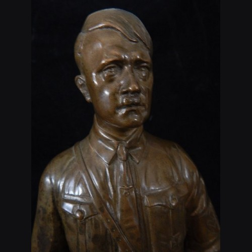 Large Standing Adolf Hitler in Bronze- Theodore Karner (1884- 1966) # 3109