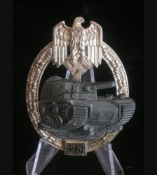 Panzer Assault Badge in Silver- Grade II