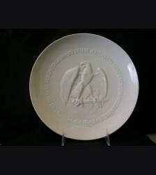 Allach Porcelain 1943 Presentation Juhlfest Plate