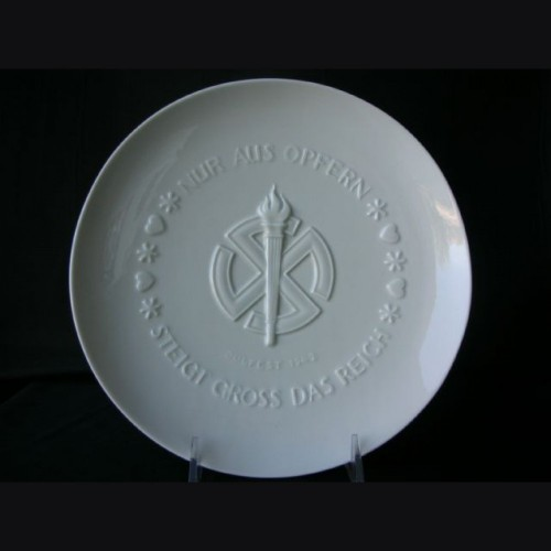 Allach Porcelain 1942 Presentation Juhlfest Plate # 3139