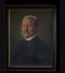 Paul von Hindenburg Oil Painting ( Alfred Reinhardt )