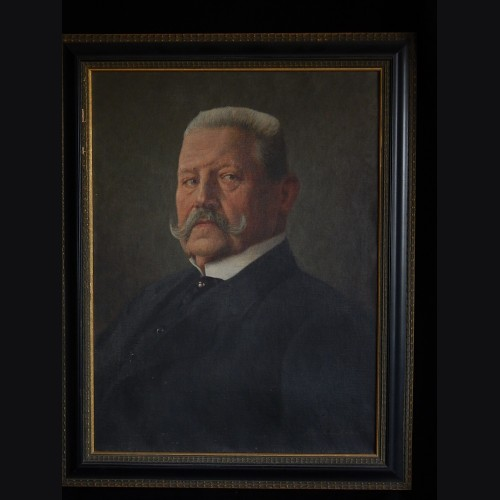 Paul von Hindenburg Oil Painting ( Alfred Reinhardt ) # 3296