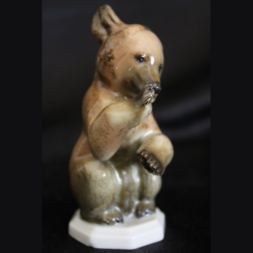 Allach Porcelain #5- Begging Bear in Color # 3253