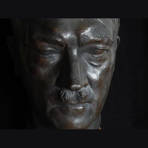 Adolf Hitler Bronze Bust- ( Bernhard Bleeker ) # 3297