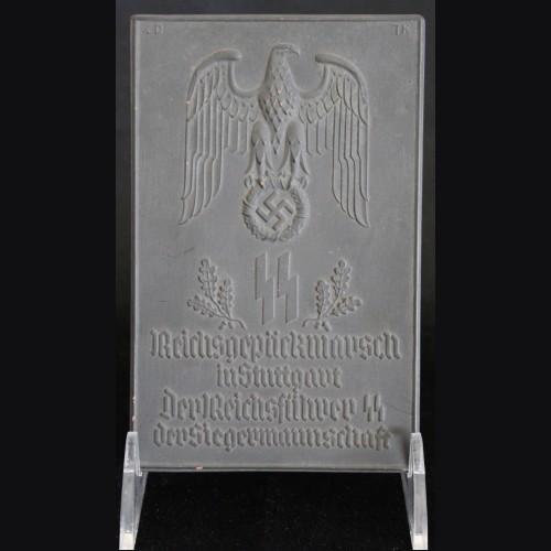 Allach Award Plaque- Reichspackmarsch in Stuttgart  # 3302