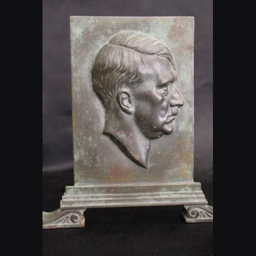 Adolf Hitler Standing Bronze Plaque- Ernst Seger # 3303