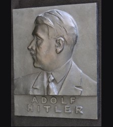 Adolf Hitler Iron Plaque # 3304