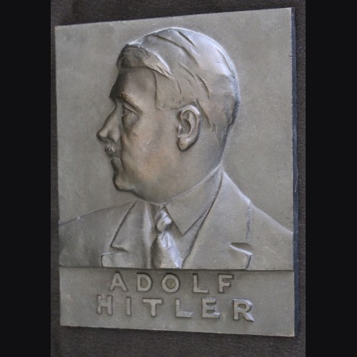 Adolf Hitler Iron Plaque
