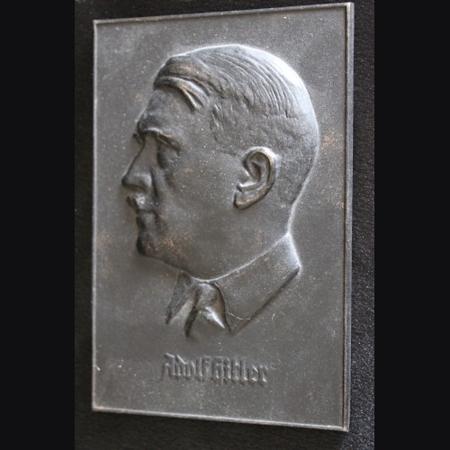 Adolf Hitler Cast Iron Plaque # 3305