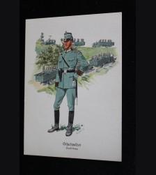Deutsches Polizei Postcard Series Of The Ordnungspolizei- Card 3 # 3308