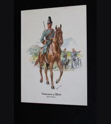 Deutsches Polizei Postcard Series Of The Ordnungspolizei- Card 7 # 3311