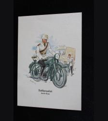 Deutsches Polizei Postcard Series Of The Ordnungspolizei- Card 10 # 3314