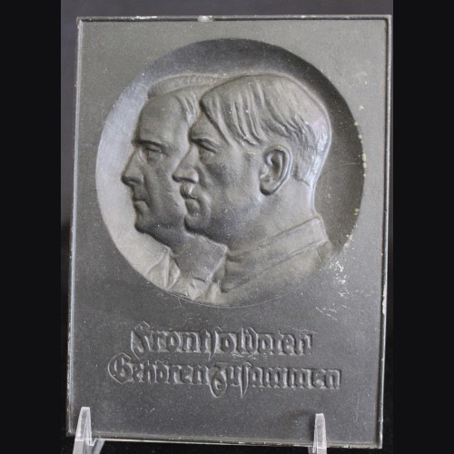 Adolf Hitler Plaque- Polymer # 3321