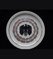 German Army XXVII Armeekorps Commemorative Ceramic Plate # 3325