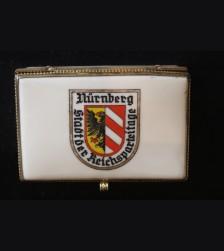 Nuremberg Reichsparteitage Porcelain Trinket Box.