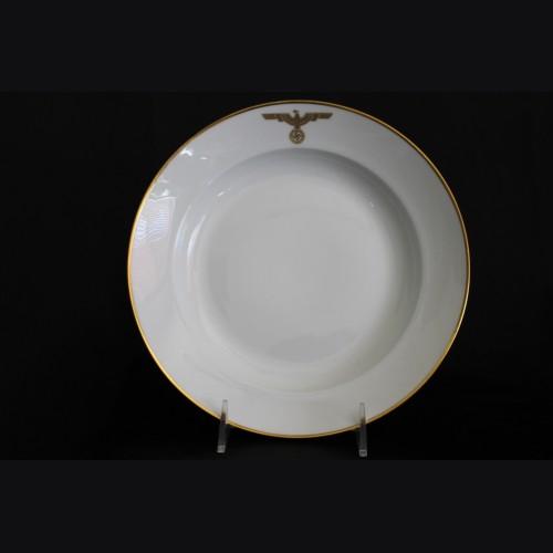Adolf Hitler Formal Dinner Plate- Deutscher Hof (Nymphenburg) # 2077