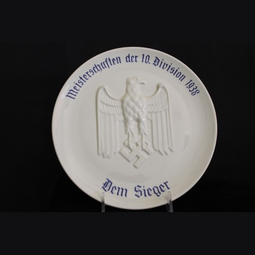 Wehrmacht Victors Plate (Heinrich & Co.) # 3336