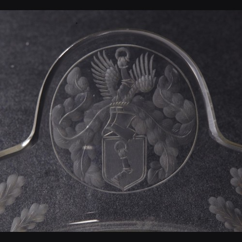 Herman Goering Crystal Serving Piece # 3342