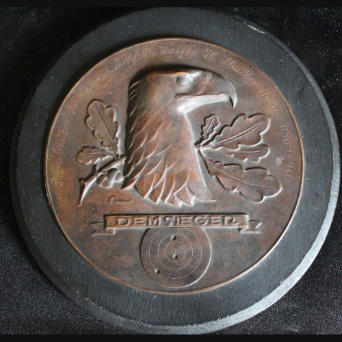 LSSAH Shooting Award in Bronze to Hermann Müller-John