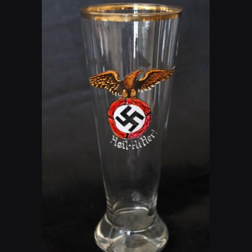 Third Reich Beer Glass- Deutschland Erwache # 3361