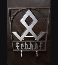 Erbhof Wrought Iron Sign # 3380