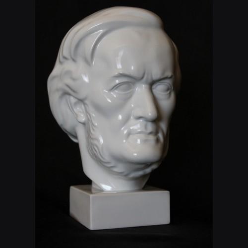 Richard Wagner Porcelain Bust- Vienna Porcelain  # 3390