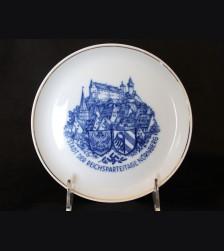 Reichsparteige Nuremberg Souvenir Plate # 3393