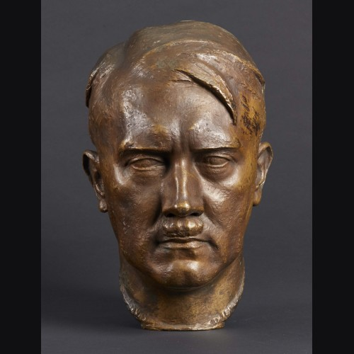 Adolf Hitler Bronze Bust- ( Ferdinand Liebermann )