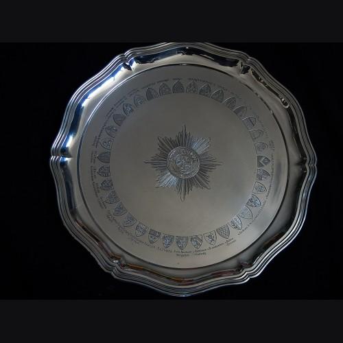 Presentation Garde du Corps Silver Salver # 3401