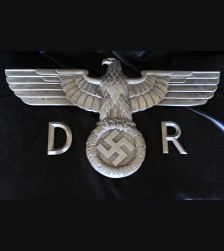"Documented Reichsbahn Eagle with All ( GPH 24.5"" ) # 3403"