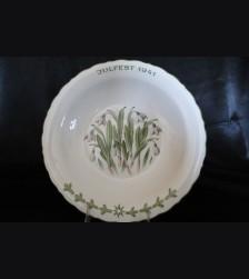 Allach Porcelain Pohl Julfest Presentation Plate 1941 # 3410