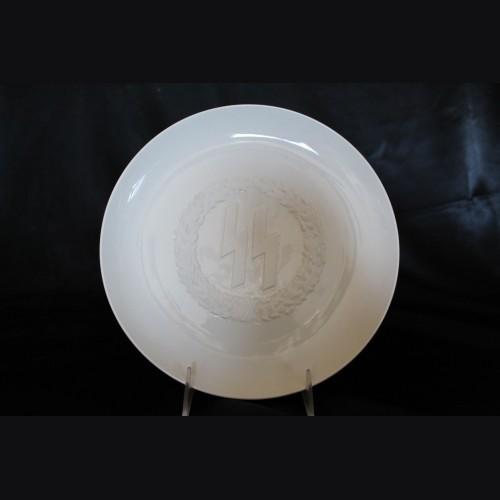 Allach Porcelain SS Himmler Presentation Plate # 3411