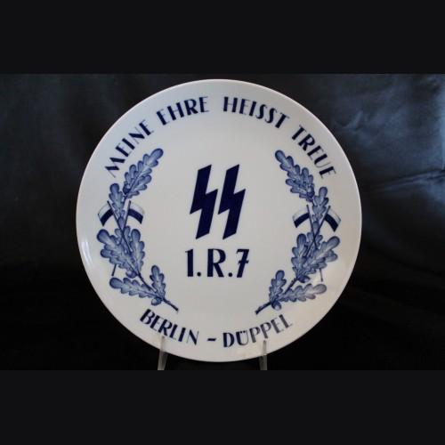 Meissen SS Regimental Plate- Reiterstandarten Berlin