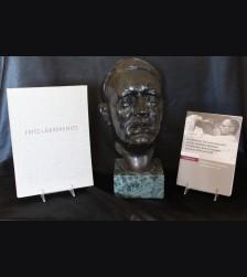 Rare Adolf Hitler Bronze Bust- Fritz von Graevnitz (1892-1959)