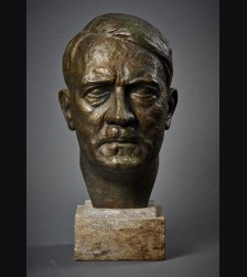 Adolf Hitler Bronze Bust- Alfred Keller (1902–1955)