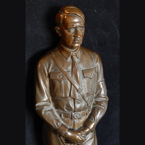 """Rare 18"""" Standing Bronze Hitler 1933- P.H Kittler (1861-1944) # 3420"""