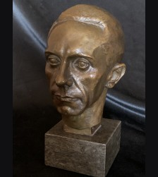 Dr. Joseph Goebbels Bronze Bust- August Kranz