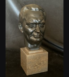 Hermann Goering Bronze Bust- H.J Pagels (1876-1959) # 3423