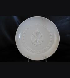 Allach Porcelain 1942 Julfest Plate- Himmler Presentation  # 3425