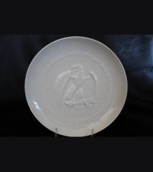 Allach Porcelain 1943 Julfest Plate- Himmler Presentation