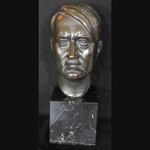 Bronze Adolf Hitler Bust- Prof. Victor Heinrich Siefert (1870-1953) # 3429
