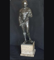 "Large 18"" Heroic Nude In Bronze-Karl Möbius ( 1876 - 1953 ) # 3437"
