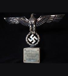 Günther Prien Presentation Reich Adler Grouping- Dr. Goebbels # 3435