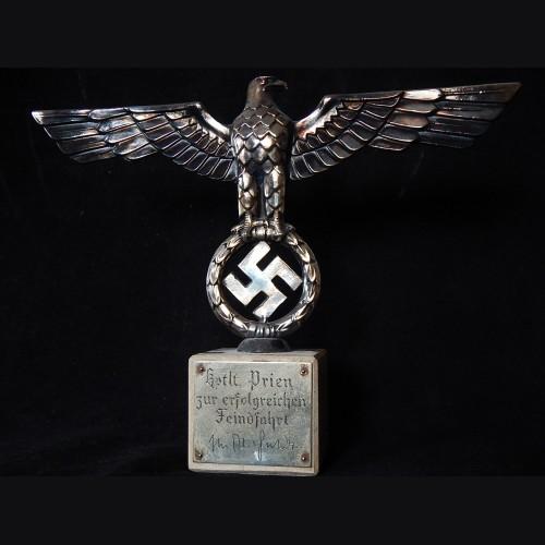 Günther Prien Presentation Reich Adler Grouping- Dr. Goebbels
