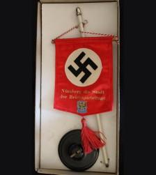 Nuremberg Reichsparteitage Table Pennant- Boxed