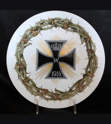 Meissen Iron Cross Plate