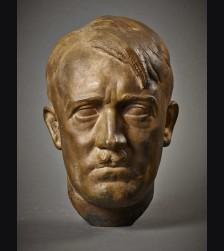 Adolf Hitler Bronze Bust- T.H Linz