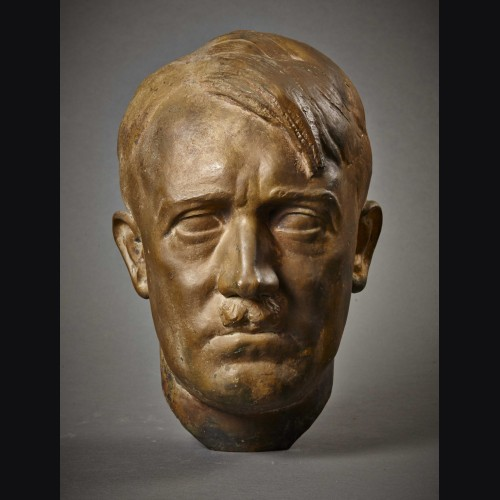 Adolf Hitler Bronze Bust- T.H Linz # 3453