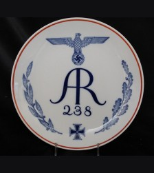 Meissen Regimental Plate- Infantry Regiment 238 # 3455