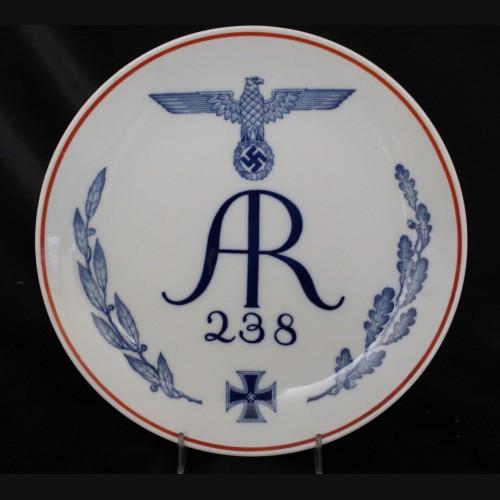 Meissen Regimental Plate- Infantry Regiment 238 # 3455